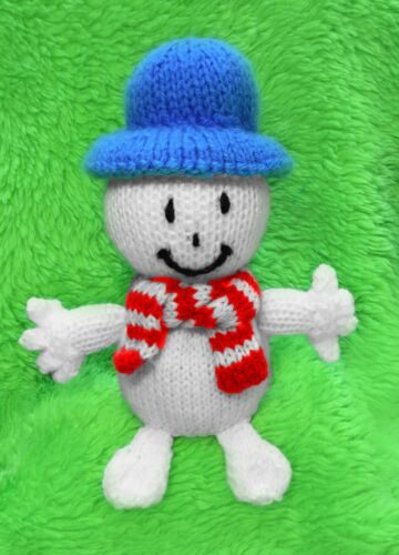 Mr Snow inspired chocolate orange cover// 17 cms Men toy KNITTING PATTERN