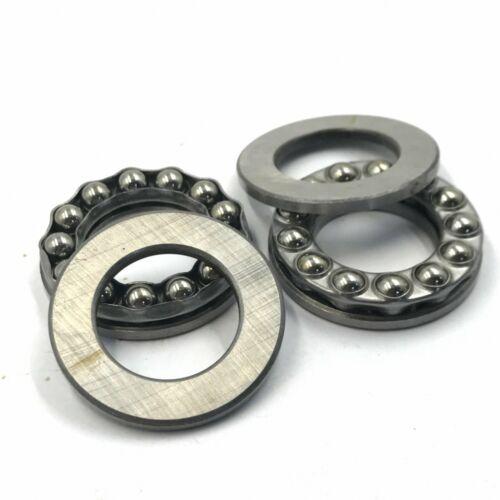 M/_M/_S 20pcs 10mm x 24mm x 9mm Axial Ball Thrust Bearing 51100