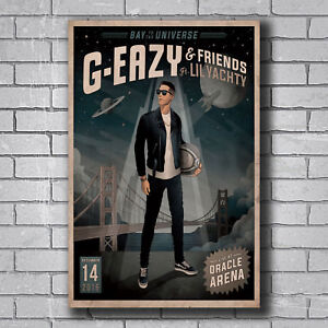 20A585 New G-Eazy and Lil Yachty Custom Rap Music Art Poster Silk Deco