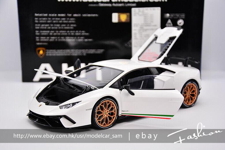 AUTOart AUTOart AUTOart 1 18 Lamborghini LP610 Huracan Performante White 48eadb