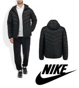 11805e3a9a4c NIKE SPORTSWEAR CASCADE DOWN QUILTED JACKET - Black - Men s XL - NEW ...