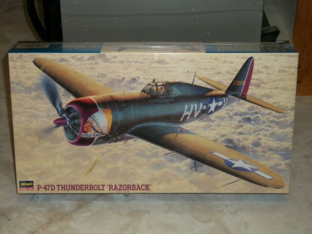 Neu Hasegawa 09057-1//48 P-47D Thunderbolt Razor back
