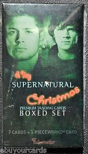 A-Very-Supernatural-Christmas-Factory-Sealed-Premium-Pack-Pieceworks-PW-inkworks
