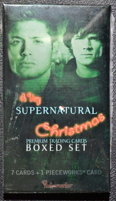 A Very Supernatural Christmas Factory Sealed Premium Pack Pieceworks PW inkworks