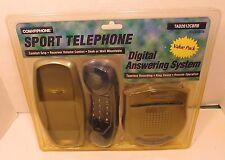 CONAIR PHONE Home DIGITAL ANSWERING MACHINE COMBO Blue NEW SPORT TELEPHONE Aid
