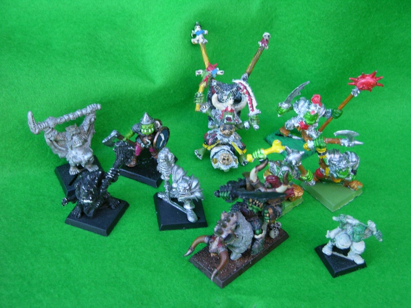 WARHAMMER  ORC COMMAND & CHARACTER MULTI-LISTING