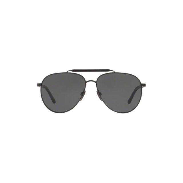 0f50422d7297 New Original Burberry Sunglasses BE3097 10075V Matte Black Frame Grey Lens  Men