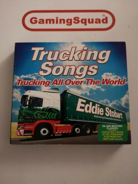 Trucking Songs, Trucking All Over the World CD, Supplied by Gaming Squad Ltd