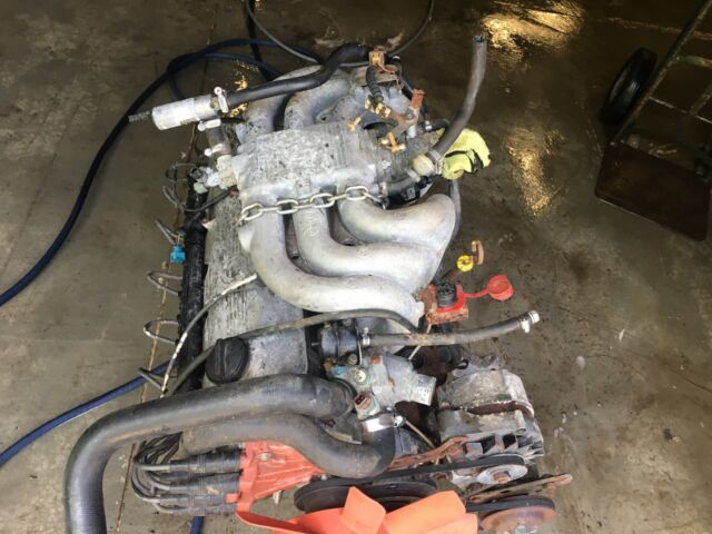 BMW E28 E30 M20 Complete Engine Assembly Not Tested 11001735062-2