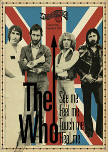 Music-Poster-A4-Photo-Reprint-The-Who-at-Stonehenge-Rock-Bar-1978