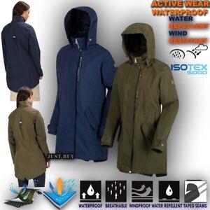 Womens-Waterproof-Jacket-Hiking-Lightweight-Outdoor-Fishtail-Coat-Hoodie-Alze