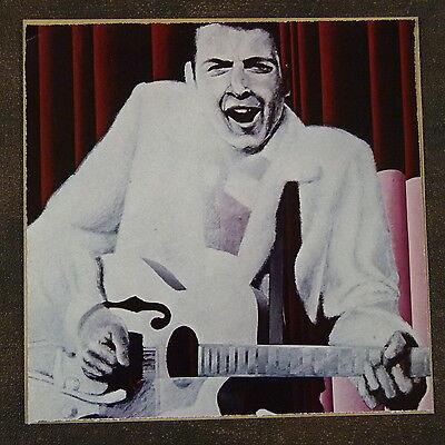 POP-KARD feat. EDDIE COCHRAN cutting 15x15cm greeting card fathers day ? aao