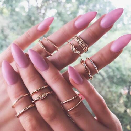 Ringe Ring Schmuck Set Schmuckset Gold Frau Damen Strass Gr 49 Fingerring