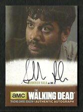2016 The Walking Dead Season 4 Part 1 Autograph Sunkrish Bala as Dr S SB1