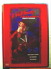 A NIGHTMARE ON ELM STREET 2 FREDDY'S REVENGE HORROR RARE OOP DVD NEW SEALED!!!