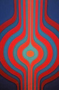 KYOHEI-INUKAI-Original-Signed-MoMA-Spectrum-Modern-Abstract-Silkscreen-Serigraph