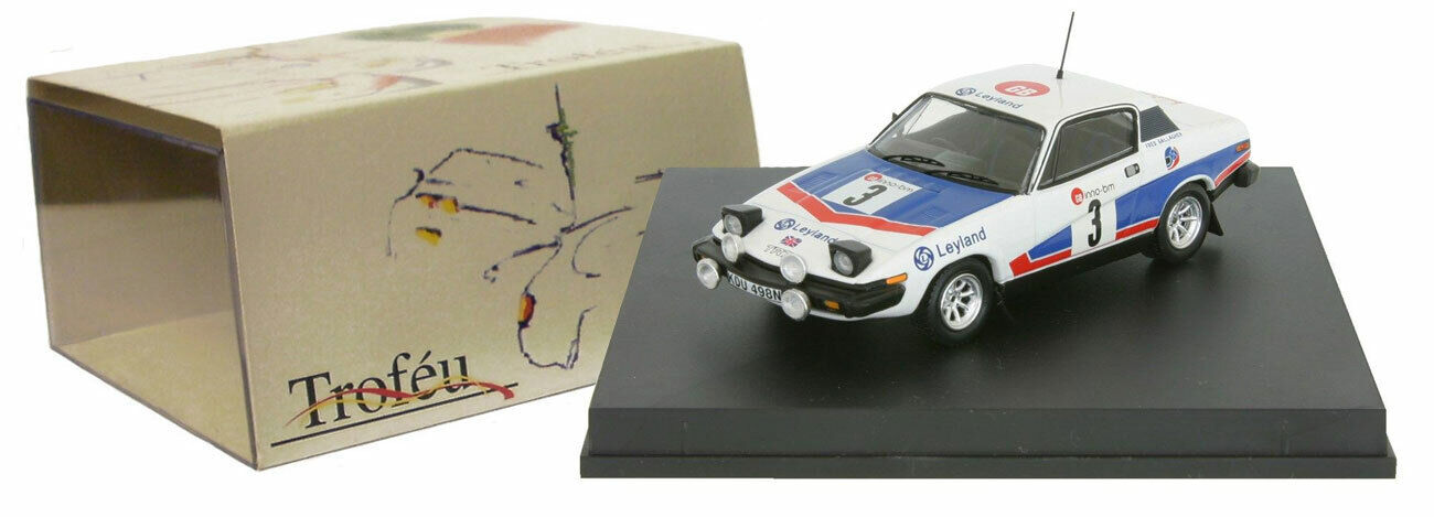 Trofeu 2004 Triumph TR7 WINNER BOUCLES DE SPA Rally 1977-Tony Pond échelle 1 43