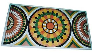 4-039-x2-039-White-Marble-Dining-Center-Coffee-Table-Top-Inlay-Marquetry-Art-Home-Decor