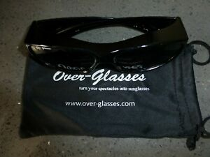 Black-Over-Glasses-with-rigid-zipper-case-microfibre-cleaning-pouch-amp-neck-cord