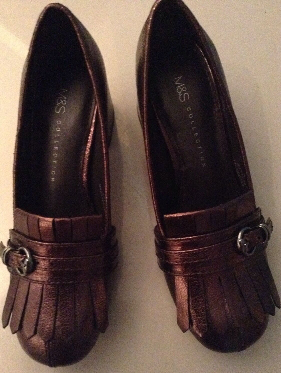 LOVELY M&S COLLECTION 7.5 LADIES SHOES, SIZE 7.5 COLLECTION , BNWT 7a9054