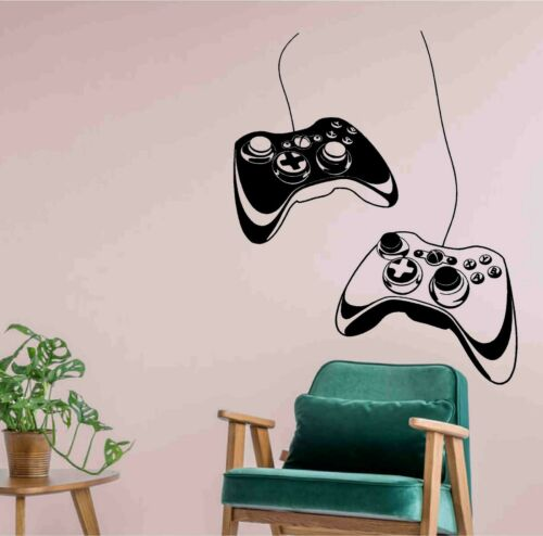 Video Gaming Vinyl Decal Sticker xbox joystick Wall Home Room Decoration skin