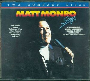 Matt-Monro-Sings-Emi-Music-For-Pleasure-Emi-2X-Cd-Ottimo