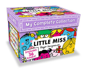 My-Complete-Little-Miss-36-Books-Collection-Roger-Hargreaves-Box-Set-NEW