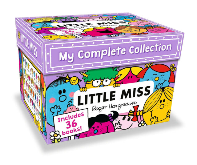 My Complete Little Miss 36 Books Collection Roger Hargreaves Box Set NEW