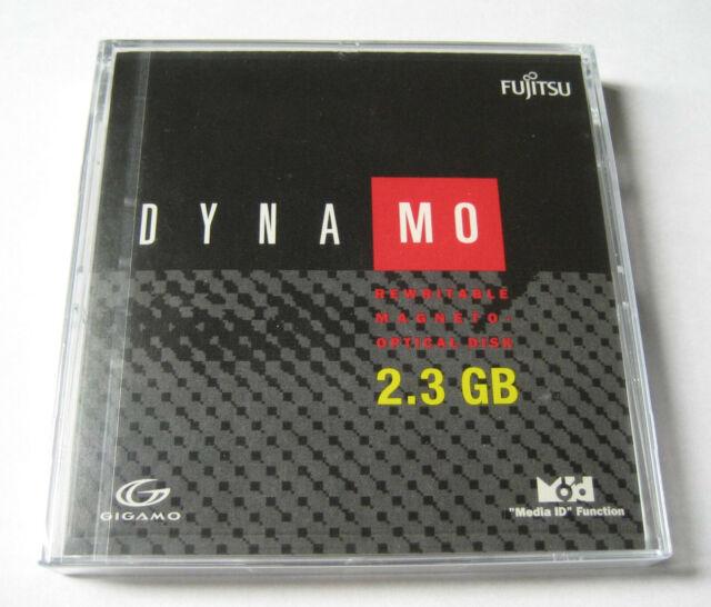 "Fujitsu Dynamo GIGAMO:  3.5""  2.3GB Magneto Optical Disk - New & Sealed"