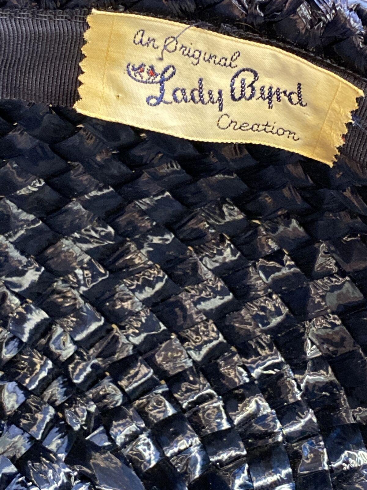 An Original Lady Byrd Creation Blue Hat c.1960's - image 2
