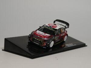 IXO-1-43-Citroen-C3-WRC-10-K-MEEKE-P-Nagle-Rallye-Monte-Carlo-2018-automovil-de-fundicion