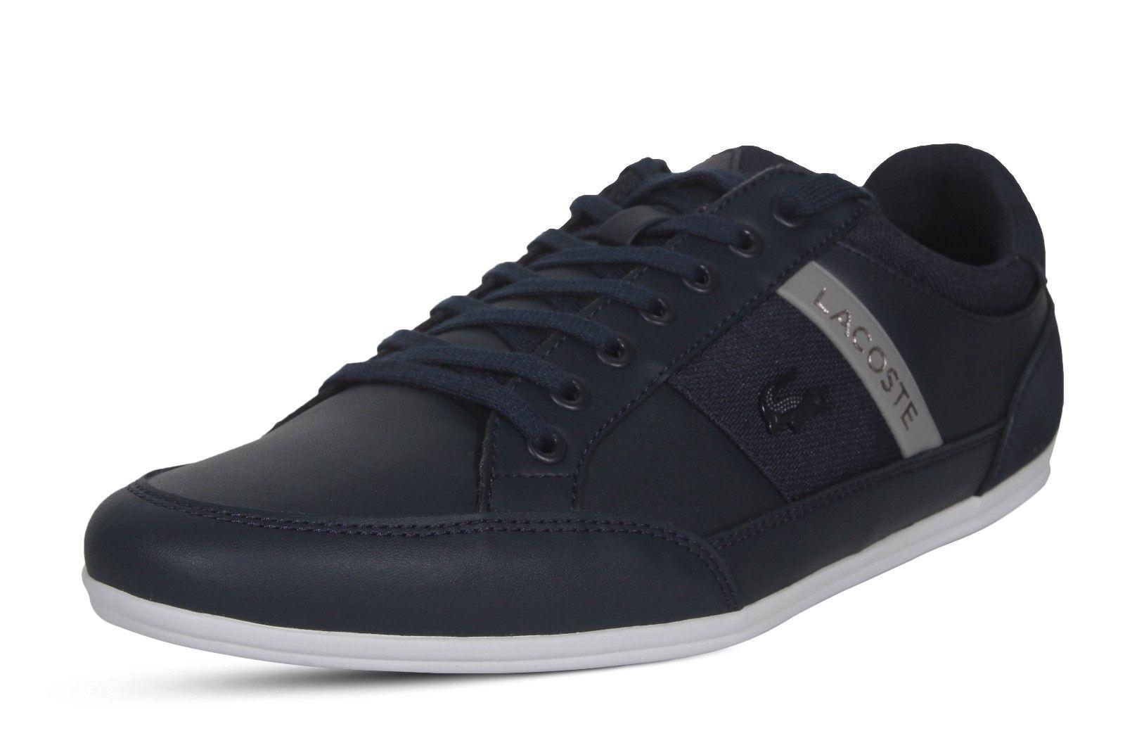 Lacoste scarpe da ginnastica Chaymon 318 318 318 3 US CAM Casual Fashion scarpe Leather Lace Up Navy 9b5752