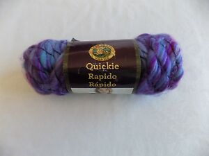 Tangy-Quickie-Yarn-Lion-Brand-3-oz-Skein-6-Super-Bulky-74-Acrylic-22-Wool