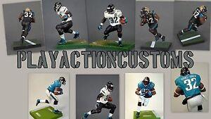 Choix de 1 figurine d'action personnalisée Jaguars de Jacksonville fabriquée en Mcfarlane Nfl