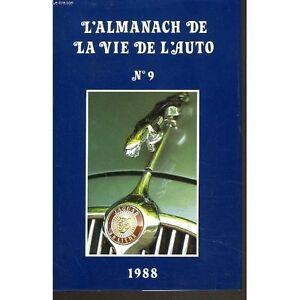 l-039-almanach-1988-de-la-vie-de-l-auto-n-9-comme-neuf