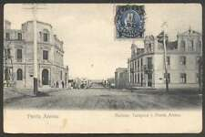 Chile Postcard Bancos Tarapaca Y Punta Arenas 1905 L@@K