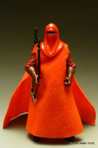 STAR WARS ROTS RED ROYAL GUARD LOOSE COMPLETE