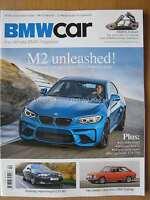 BMW Car April 2016 M2 E39 M5 X4 M40i Schnitzer E9 CSi E34 535i 2000 Touring X5