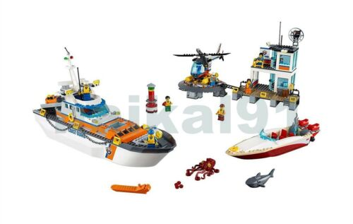 Best Custom Creator Coast Guard Head Quarters Lego 60167 Manual Books