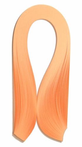 125 découpis Papier Bandes en biscuit orange 3 mm et 5 mm de large 125gsm