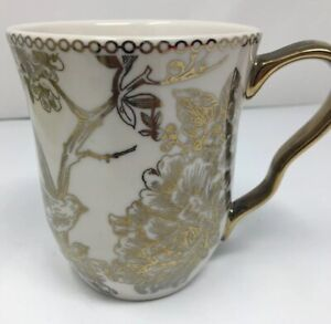 222-FIFTH-Adelaide-Gold-Bird-and-Floral-Coffee-Cup-Mug