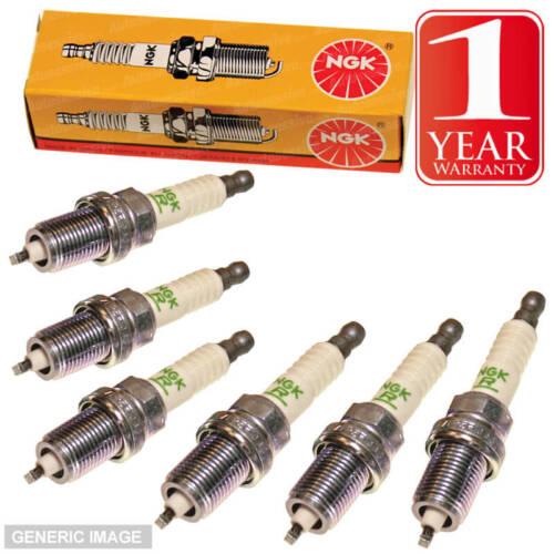 NGK Spark Plugs x6 B8ES 2411 JAGUAR XJ 6 2.9