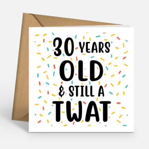 Image Is Loading Personalised Years Old And Still A Tw T