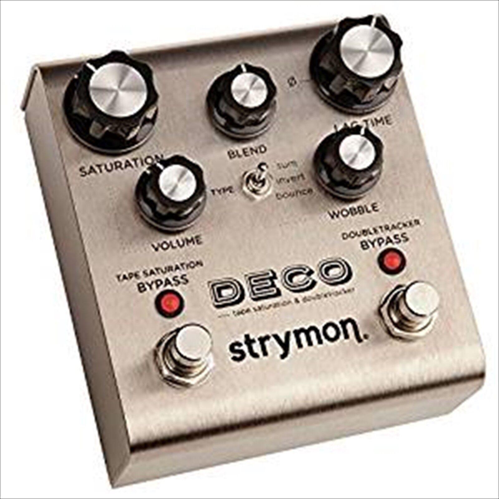 strymon DECO Tape Saturation & Doubletracker Guitar Effect Pedal Japan NEW