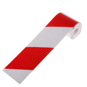 3-metres-rouge-blanc-reflechissant-securite-AVERTISSEMENT-autocollant