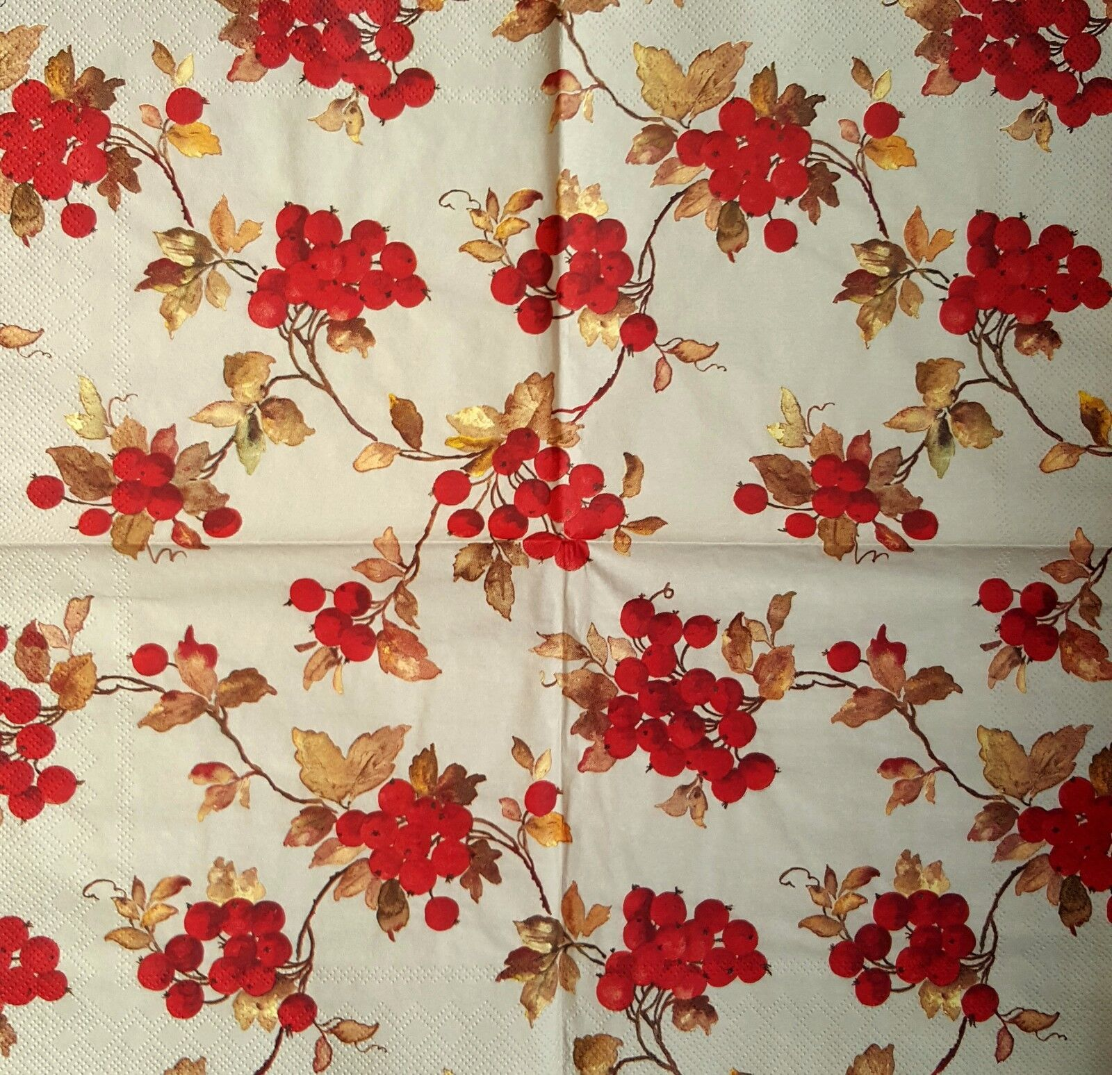 Tassotti Scrittura 4x Paper Napkins for Decoupage Craft and Party