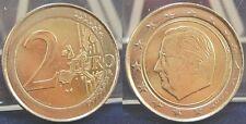 2€ Fehlprägung mit Artfr. Ring ohne Randinschrift 2002 Belgien fast st.