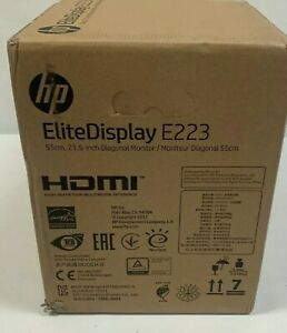 """HP 23.8"""" Widescreen Monitor 60Hz Full HD IPS LCD Brand New In Sealed Box"""