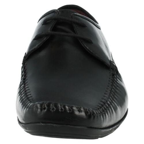 Fit Zapatos Clarks De Hombre Cordones G Negro Andar Ferro Con Piel wZtx1q4R
