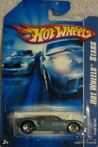 Hot Wheels Tout Stars 2007-134 Ford GT-40 Metalflake Gris Foncé